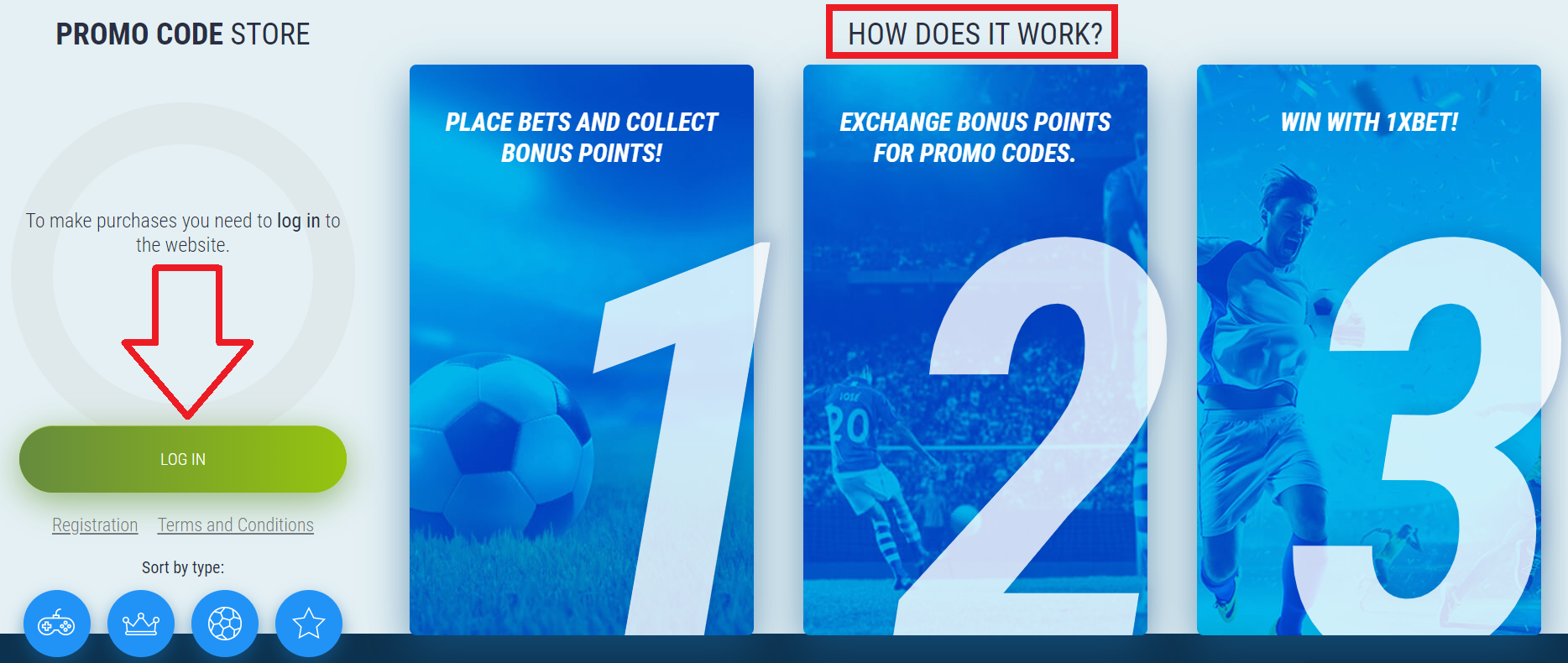 What is 1xbet promo code